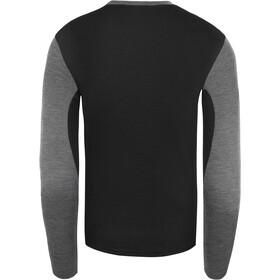 The North Face Easy Pitkähihainen Pyöreäkauluksinen Miehet, tnf medium grey heather/tnf black